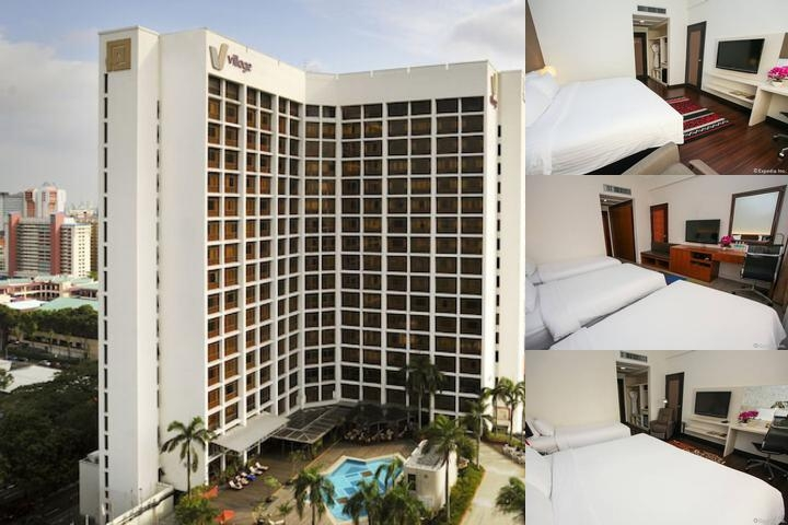 Village Hotel Bugis photo collage