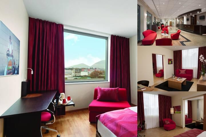Ramada Encore Geneva photo collage