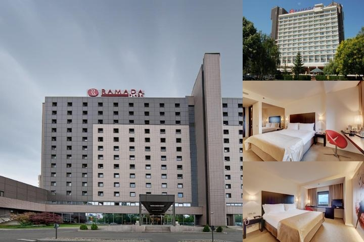 Ramada Plaza Bucharest Hotel photo collage