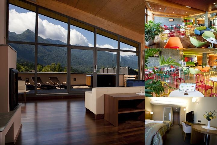 Bohinj Eco Hotel photo collage
