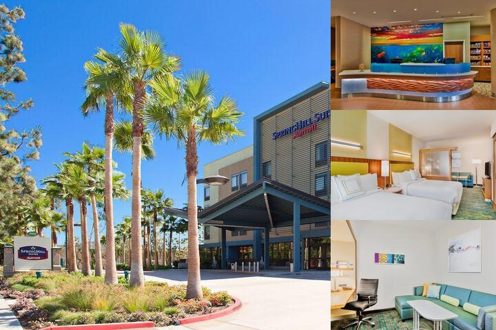 Springhill Suites by Marriott Anaheim Maingate photo collage