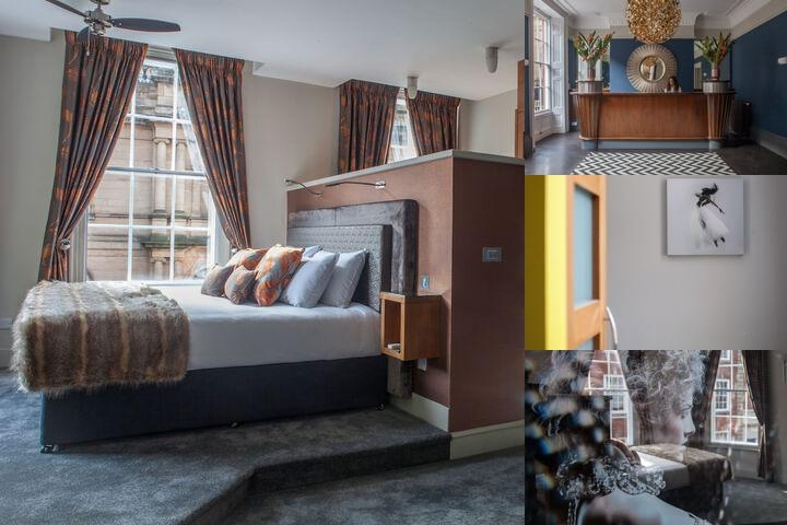 Lace Market Hotel photo collage