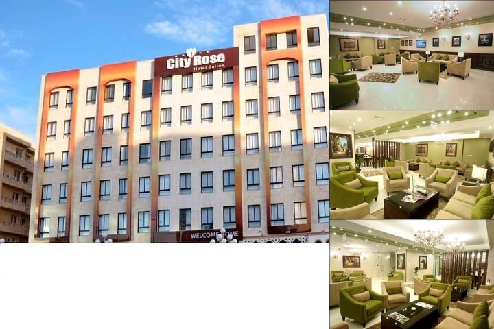 City Rose Hotel Suites photo collage