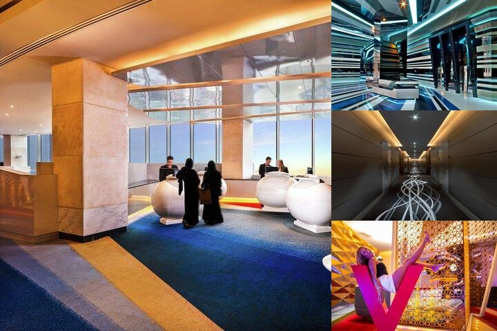 W Dubai Al Habtoor City photo collage
