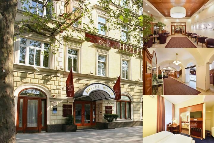 Austria Classic Hotel Wien photo collage