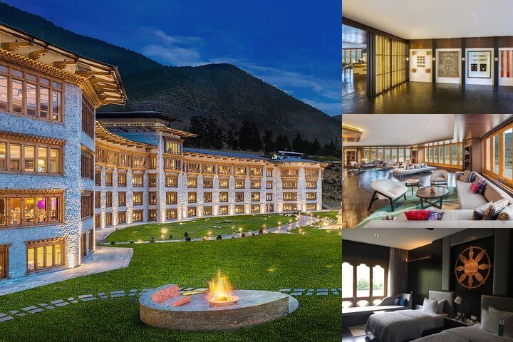 Le Meridien Paro Riverfront photo collage