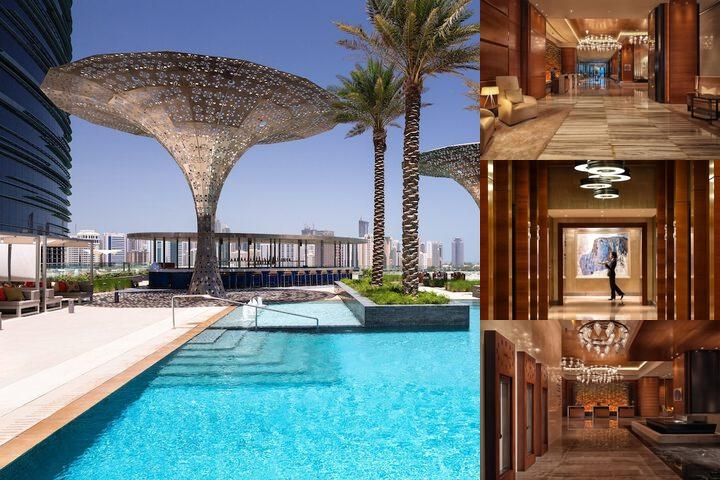 Rosewood Abu Dhabi photo collage
