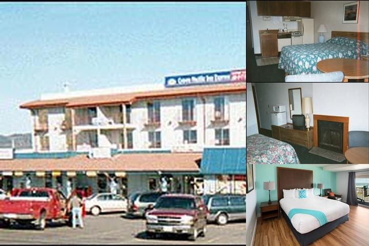 Crown Pacific Inn photo collage