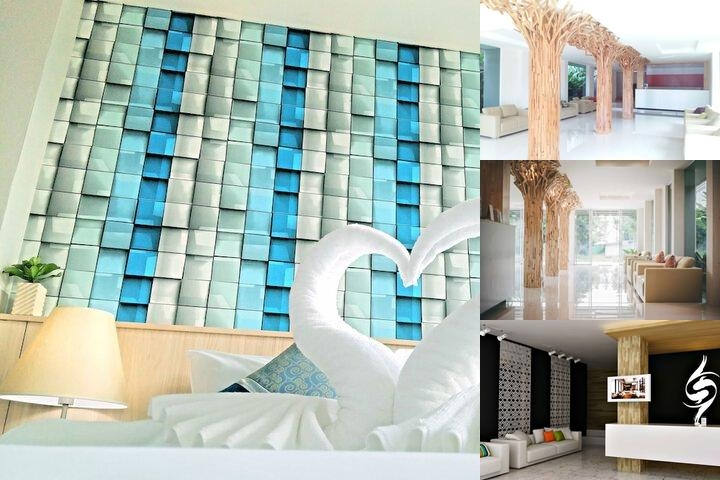 The Wings Boutique Hotel photo collage