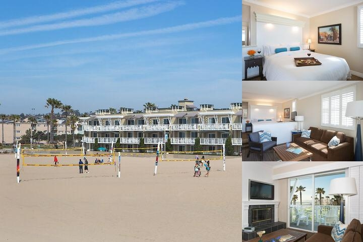 Beach House Hotel photo collage