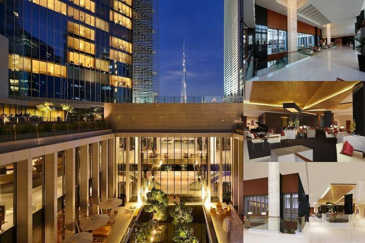 The Oberoi Dubai photo collage