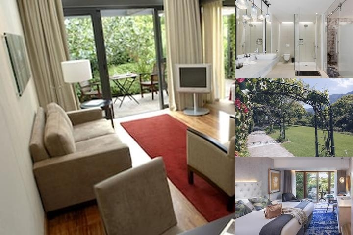 Vineyard Hotel photo collage