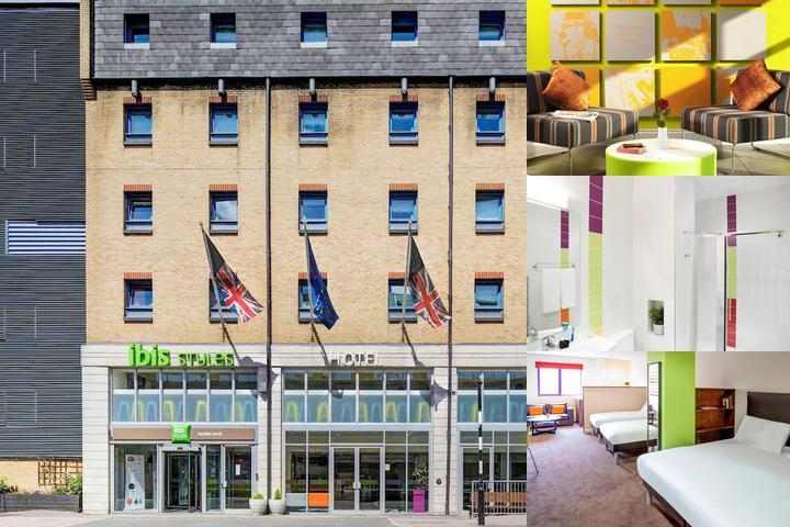 Ibis Styles London Excel photo collage