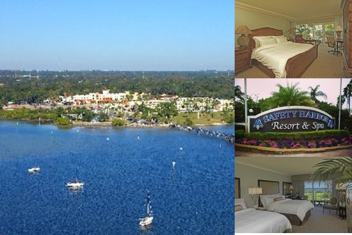 Safety Harbor Resort & Spa a Trademark Collection Hotel photo collage