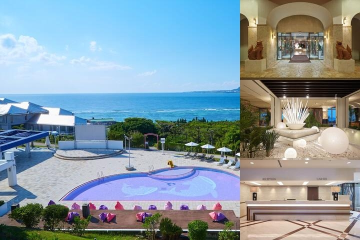 Centurion Hotel Okinawa Churaumi photo collage