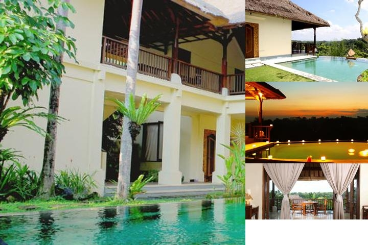 Gayatri Villa Ubud photo collage