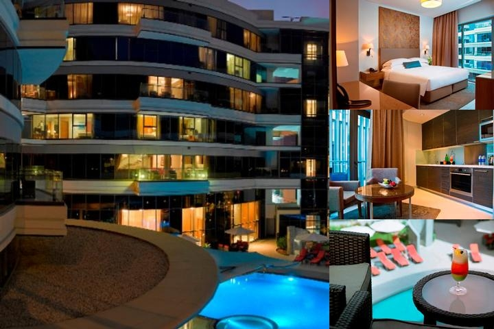 Majestic Arjaan by Rotana photo collage