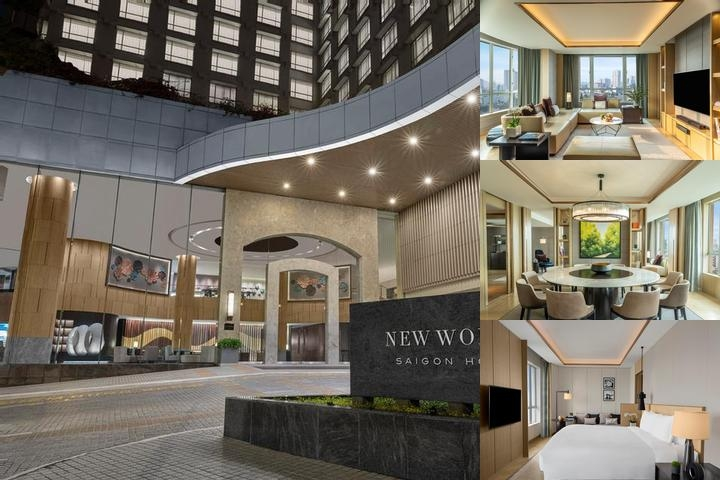 New World Saigon Hotel photo collage