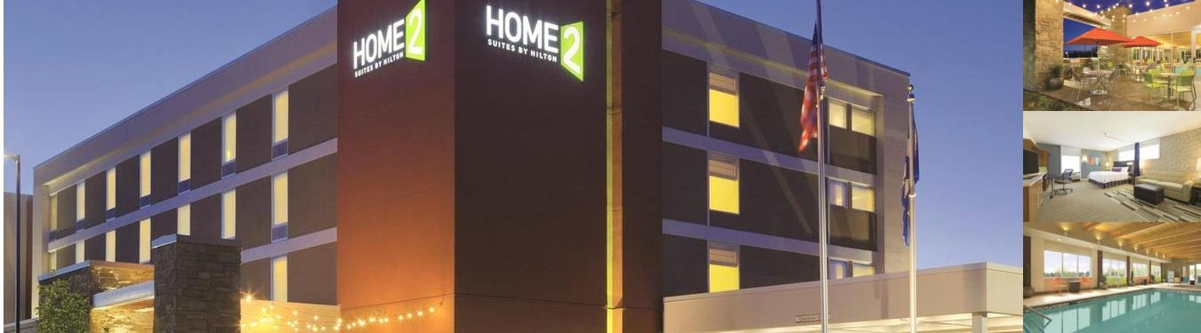 The Home2 Suites photo collage