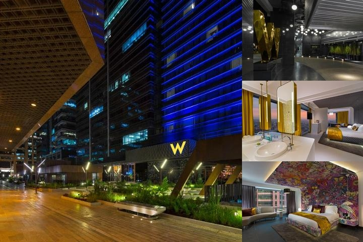W Bogota Hotel photo collage