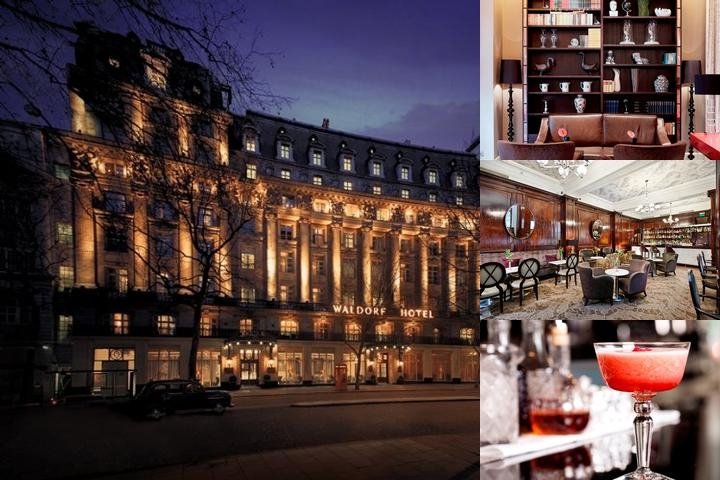 The Waldorf Hilton London photo collage
