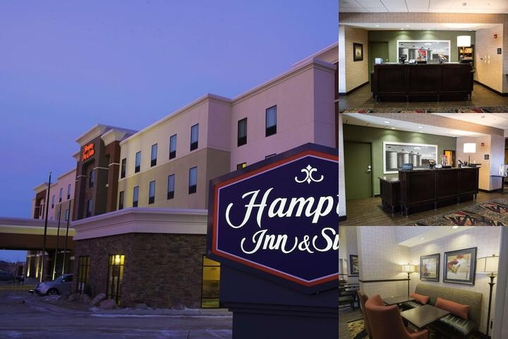 Hampton Inn & Suites Bismarck Northwest photo collage