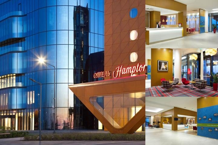 Hampton by Hilton Saint Petersburg Expoforum photo collage