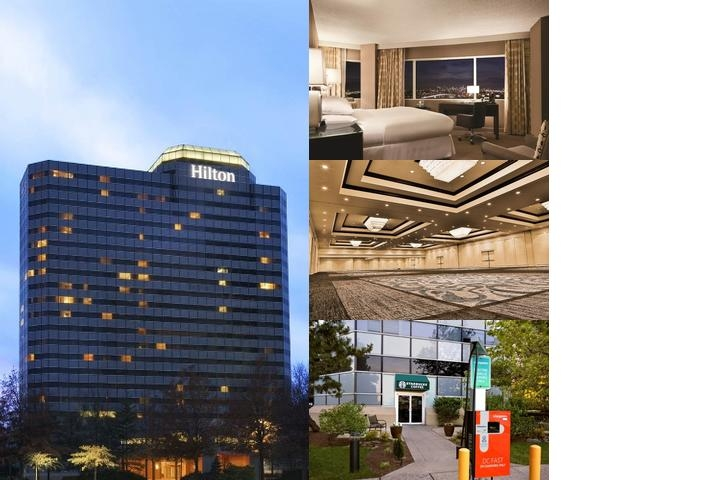 Hilton Meadowlands photo collage