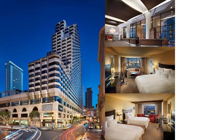 Parc 55 San Francisco a Hilton Hotel photo collage