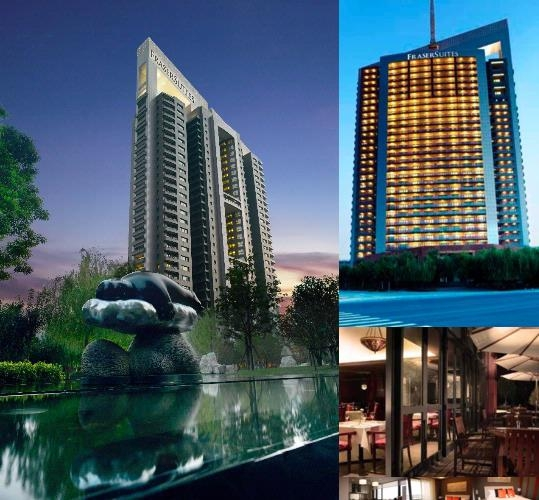 Fraser Suites Nanjing photo collage