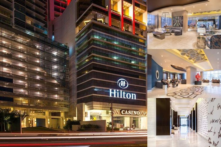 Hotel Hilton Panama photo collage