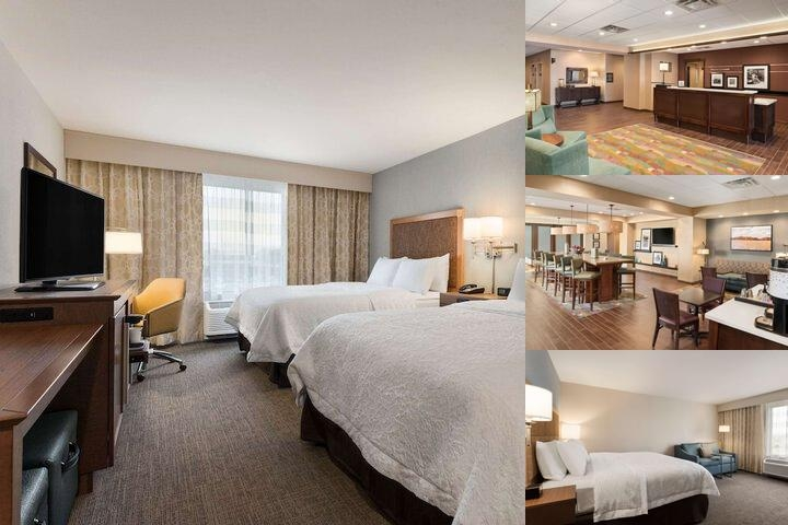 Hampton Inn Lincoln Airport photo collage