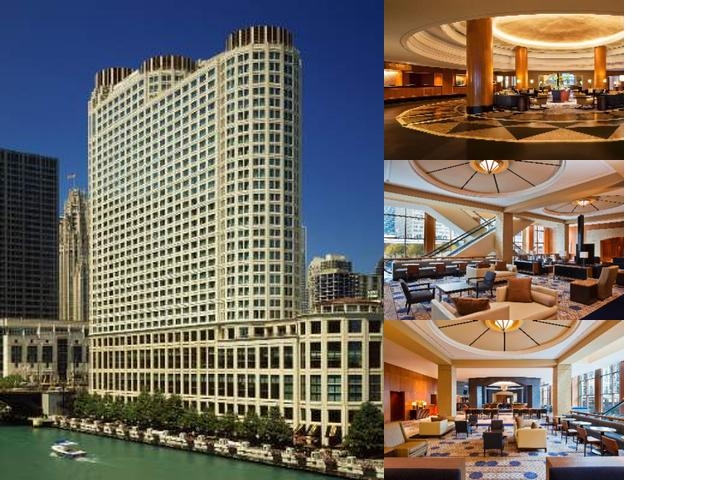 Sheraton Grand Chicago photo collage