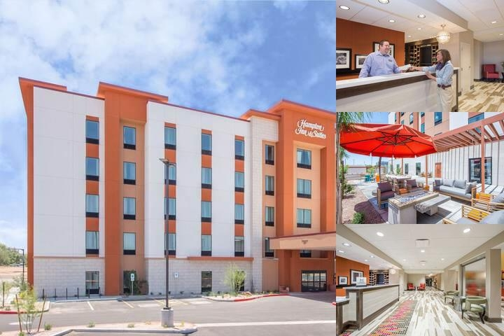 Hampton Inn & Suites Phoenix East Mesa Gilbert photo collage