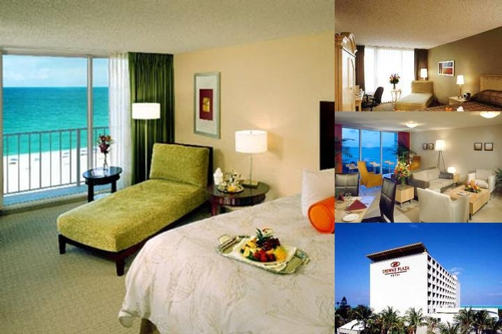 Crowne Plaza Oceanfront photo collage