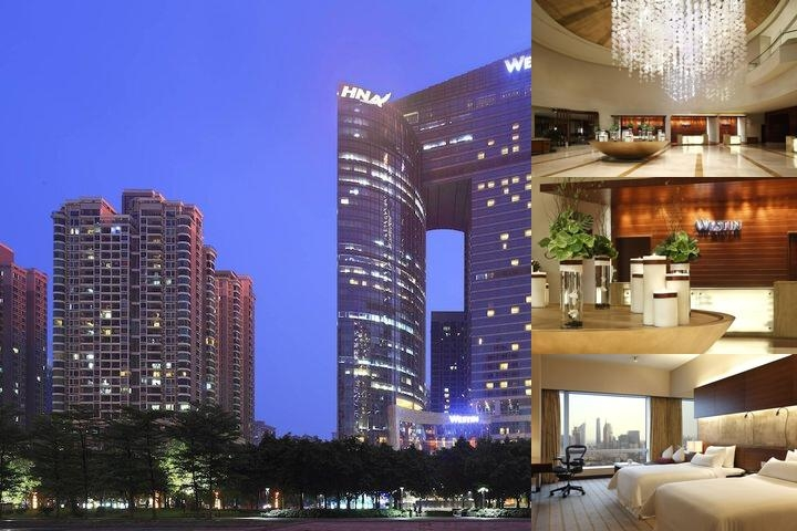 The Westin Guangzhou photo collage
