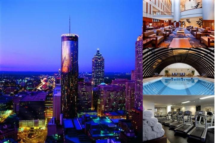 Westin Peachtree Plaza photo collage