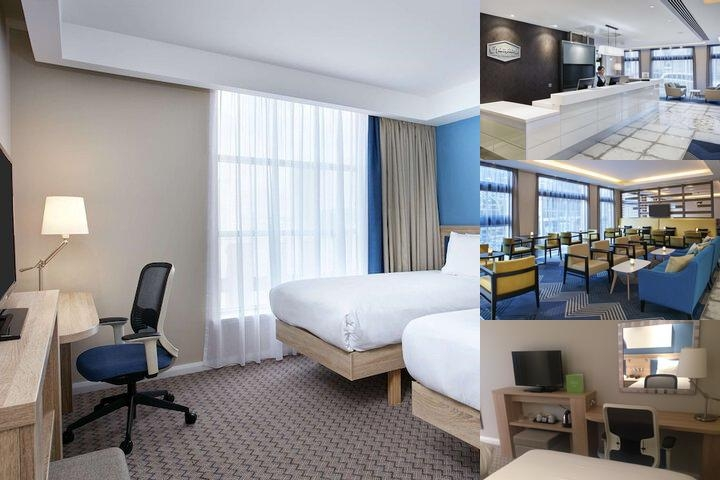 Hampton by Hilton Glasgow Central photo collage
