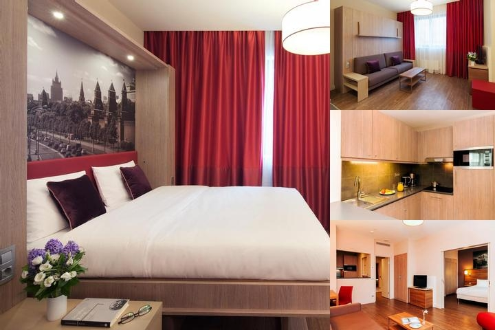 Aparthotel Adagio Moscow Paveletskaya photo collage
