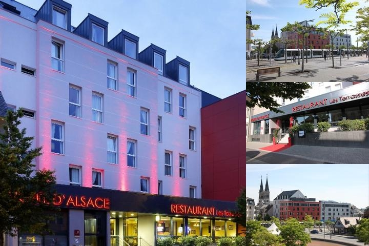 Hotel D'alsace photo collage