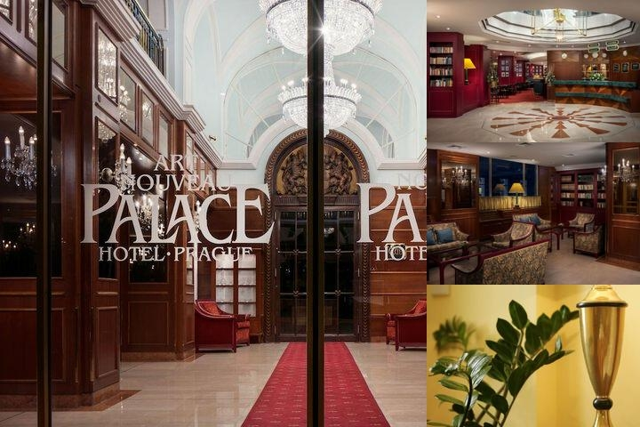 Art Nouveau Palace Hotel photo collage