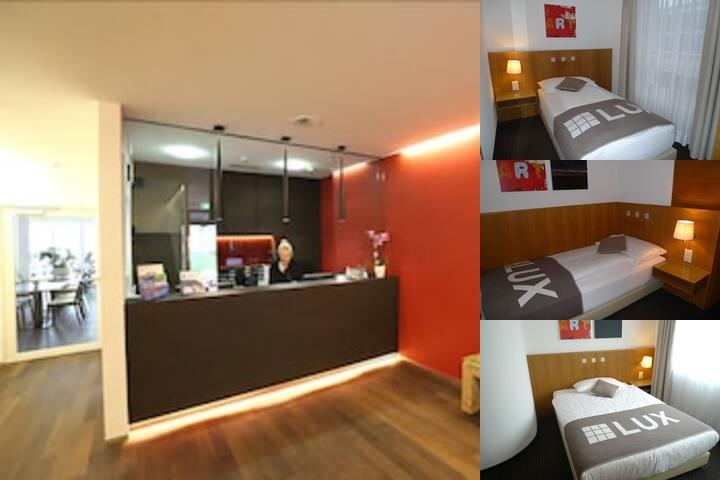 Businesshotel Lux photo collage