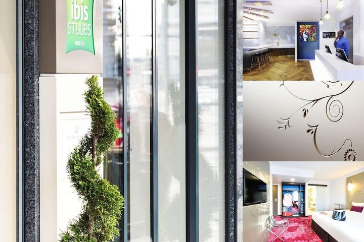 Ibis Styles Geneve Gare photo collage
