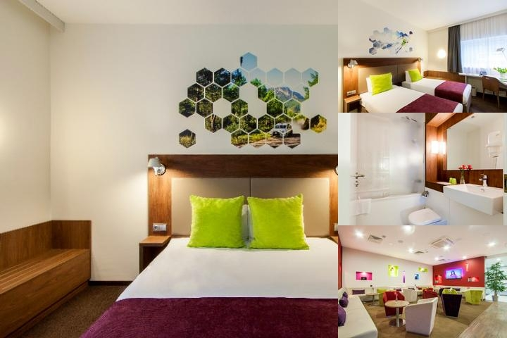 Ibis Styles Vilnius photo collage