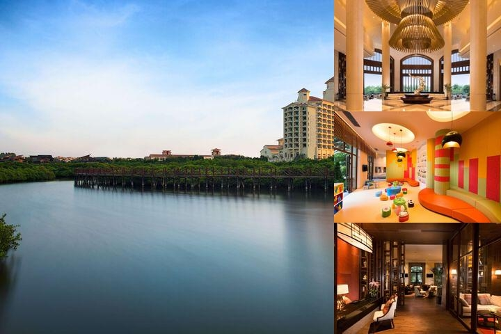 Doubletree Resort by Hilton Hotel Haikou Chengmai photo collage