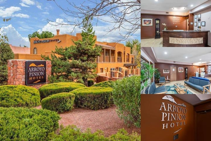 Arroyo Pinion Hotel photo collage