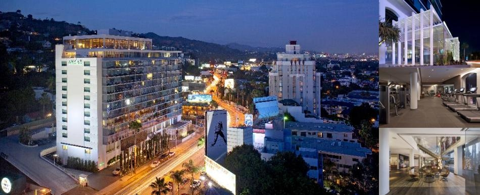Andaz West Hollywood photo collage