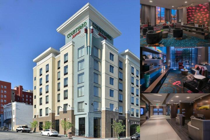 Courtyard by Marriott Wilmington Downtown / Histor photo collage