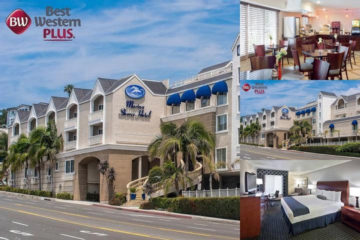 Best Western Plus Marina Shores Hotel photo collage