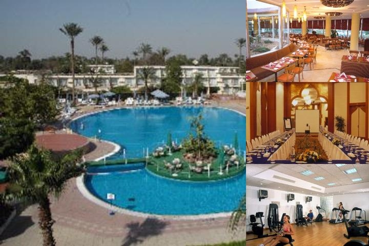 Pyramids Park Resort Cairo photo collage